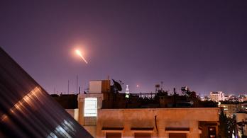 Izrael légicsapást hajtott végre Szíriában, nyolcan meghaltak
