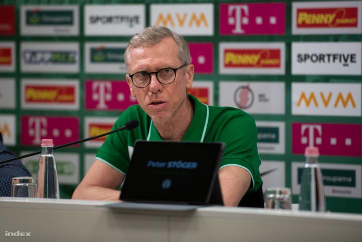 Peter Stöger, az új vezetőedző