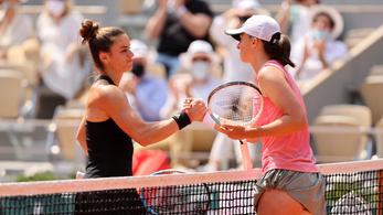 Kiesett a női egyes címvédője a Roland Garroson