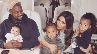 Bár válnak, Kanye West szülinapján Kim Kardashian azt írja, egész életében szeretni fogja őt