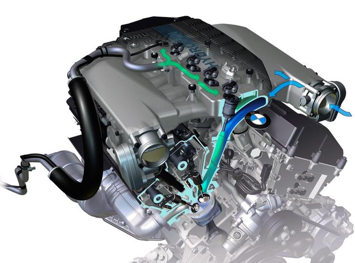 Szívócső befecskendezéses volt a BMW Hydrogen 7 nevű típusának benzin-hidrogén átkapcsolható üzemű V12-es motorja. 445 lóerőről 260-ra csökkent a teljesítmény