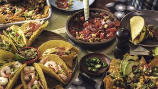 Mexikói vegán saláta