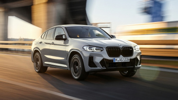 Átdolgozzák a BMW X3-ast és X4-est