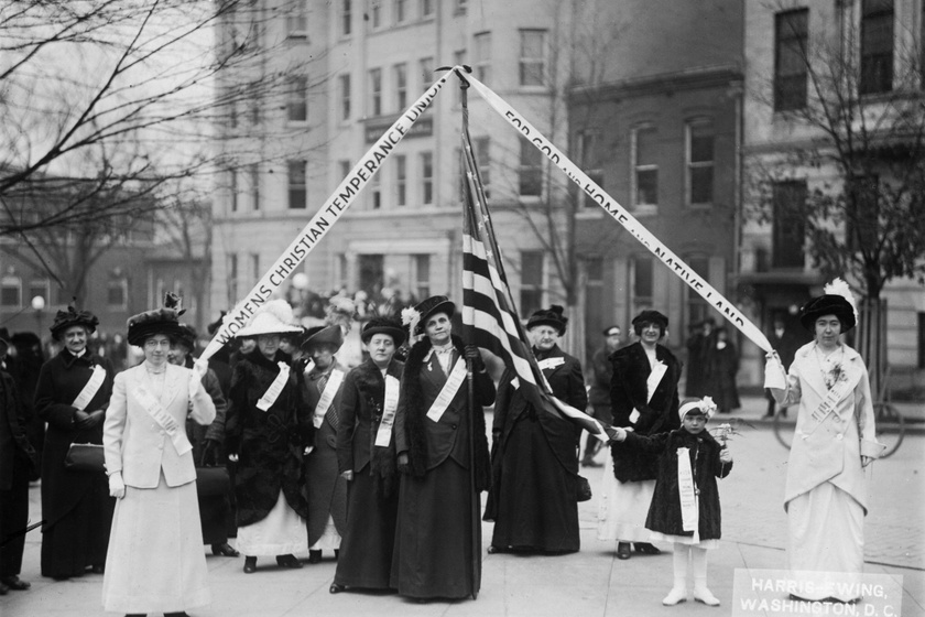 A Woman's Christian Temperance Union Washington DC-ben