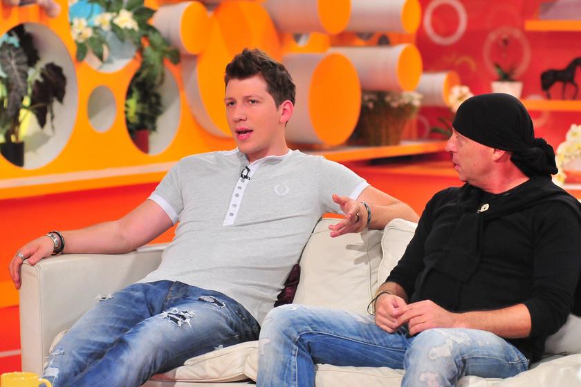 Vastag Tamás 2011 nyarán a Reggeli című műsorban. Most olyan vékony lett, mint tíz évvel ezelőtt.