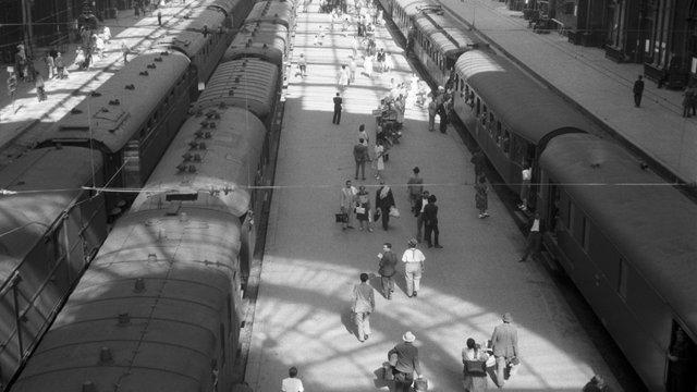 A Keleti egy napja 1948-ból