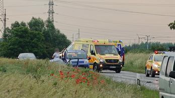 Négy jármű ütközött egy ittas sofőr miatt