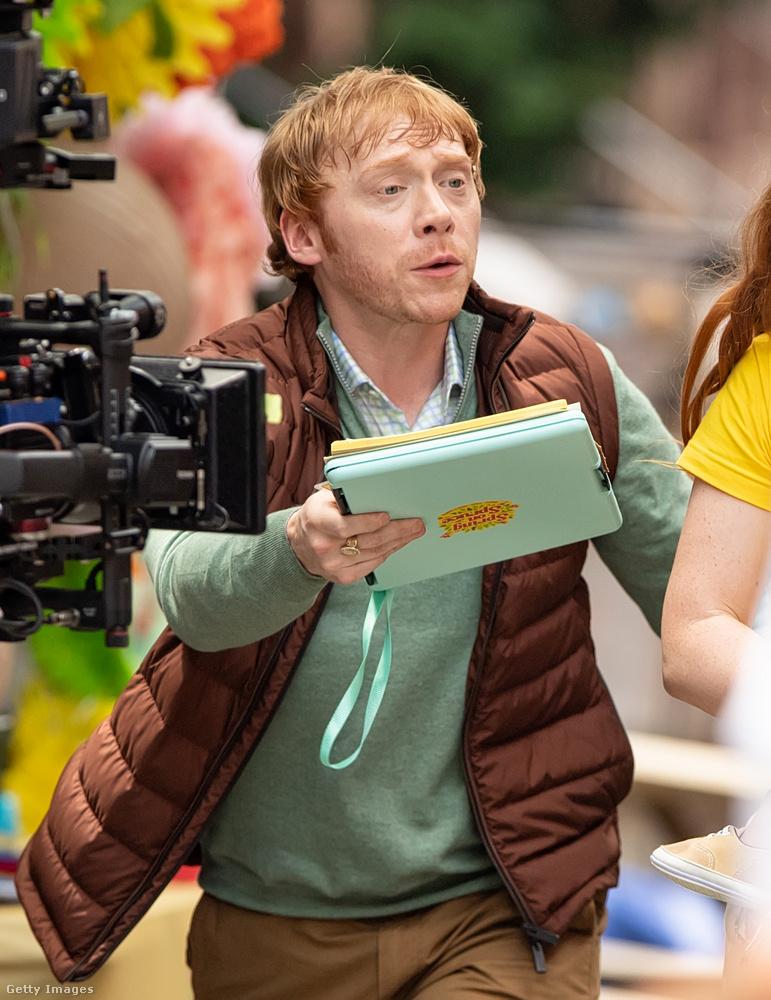 Csak engem emlékeztet Rupert Grint ezen a fotón Koltai Róbertre? Valószínűleg igen.