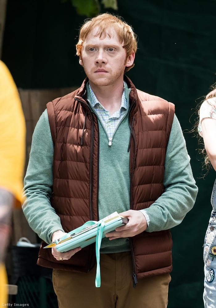 Nem lennék annak a helyében, akire Rupert Grint ilyen szigorúan néz!