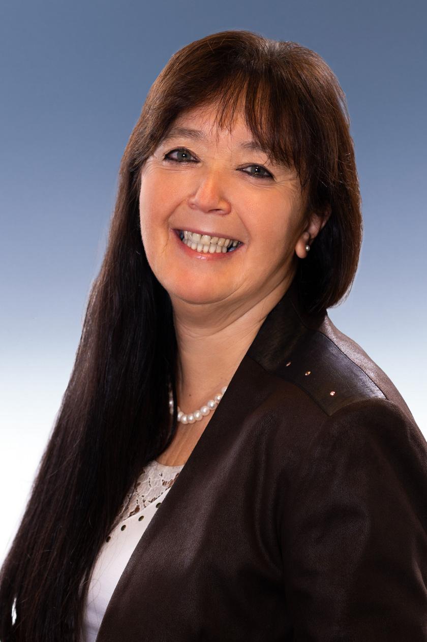 Dr. Szondy Klára tüdőgyógyász-onkológus főorvos.