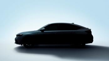 Néhány héten belül itt az új ötajtós Civic is