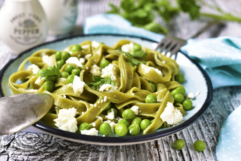 Villámgyors fetás, borsós tészta: friss zöldségből a legfinomabb