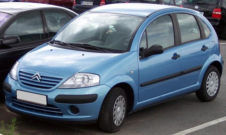 Citroen C3 blue vl