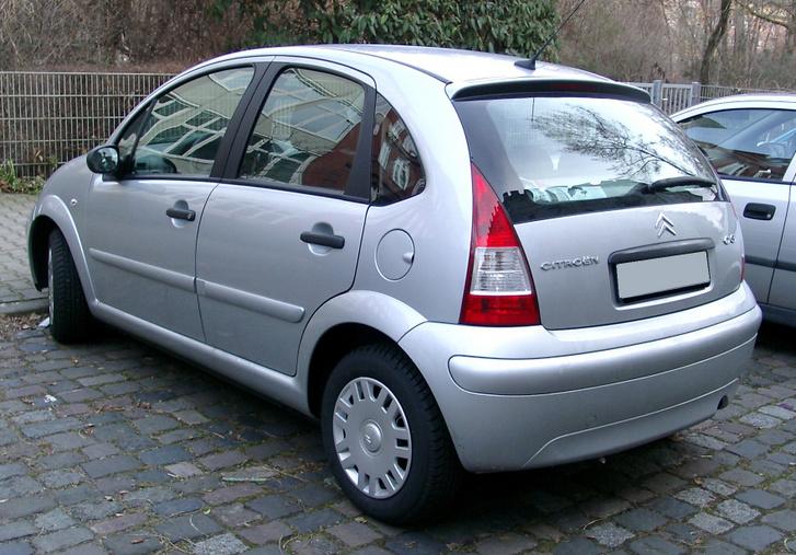 Citroen C3 rear 20080108