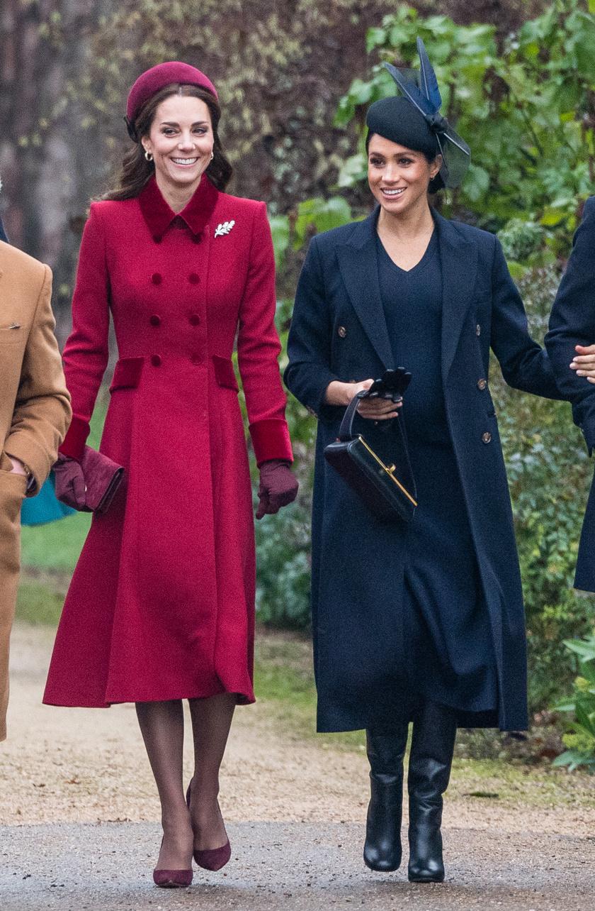 A két hercegné 2018 decemberében.