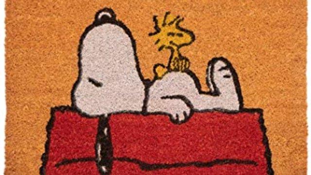 Snoopys lábtörlő