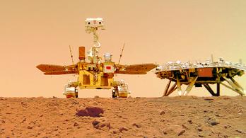 Újabb képeket közölt a Marsról a kínai rover