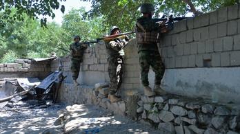 Megállíthatatlanul nyomulnak előre a tálibok Afganisztánban