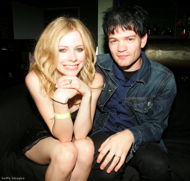 Avril Lavigne és Deryck Whibley