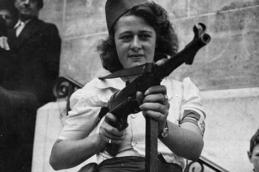 Simone Segouin, a 18 éves nácivadász igaz története: szinte gyerekként tanult meg a fegyverekkel bánni