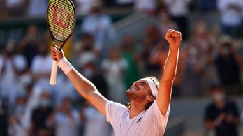 Cicipász történelmet írt a Roland Garroson