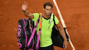 Rafael Nadal karrierje során harmadszor kapott ki a Roland Garroson