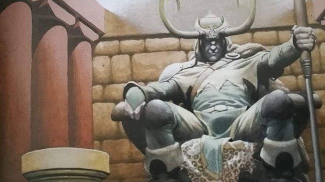 Loki képregény bemutató