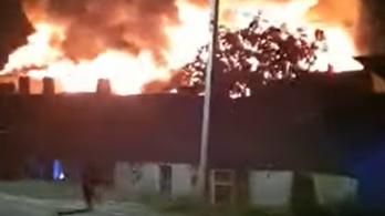 Tűz Maros megyében