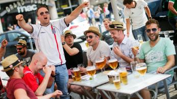 10 millió pint sört isznak meg az angolok a horvátok elleni meccs napján
