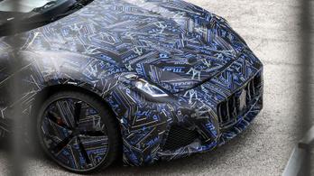 Álcában mutatták meg a következő Maseratit