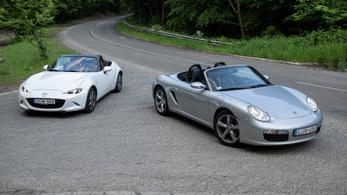 Szerelem: Mazda MX-5 G132 és Porsche Boxster (987)