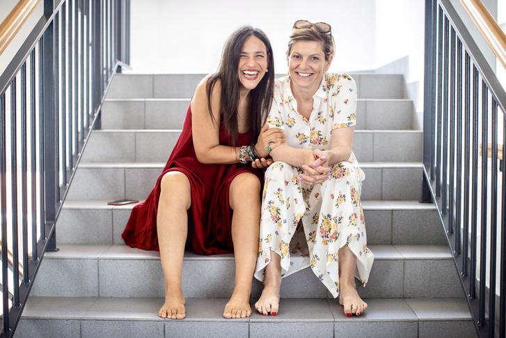Palya Bea és a Sunday Brunch műsorvezetője, Kitzinger Szonja