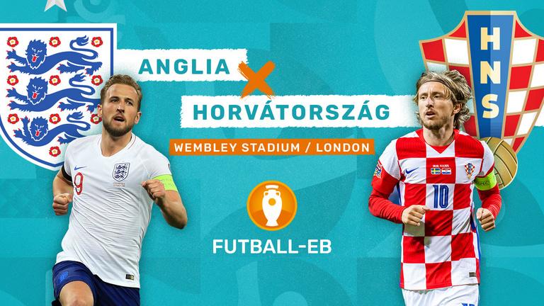 Itt az Eb első rangadója: Anglia–Horvátország