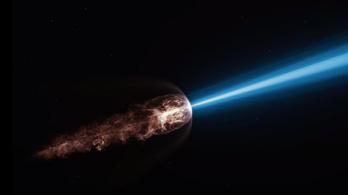 Itt a látványos videó, egymilliárd fényévre a Földtől felrobbant egy csillag