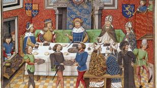 Senki nem marcangolta állat módjára az ételt, de disznó vicceket mesélni tilos volt a középkorban