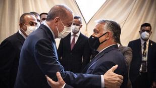 Orbán Viktor a török elnökkel töltötte a vasárnap estét