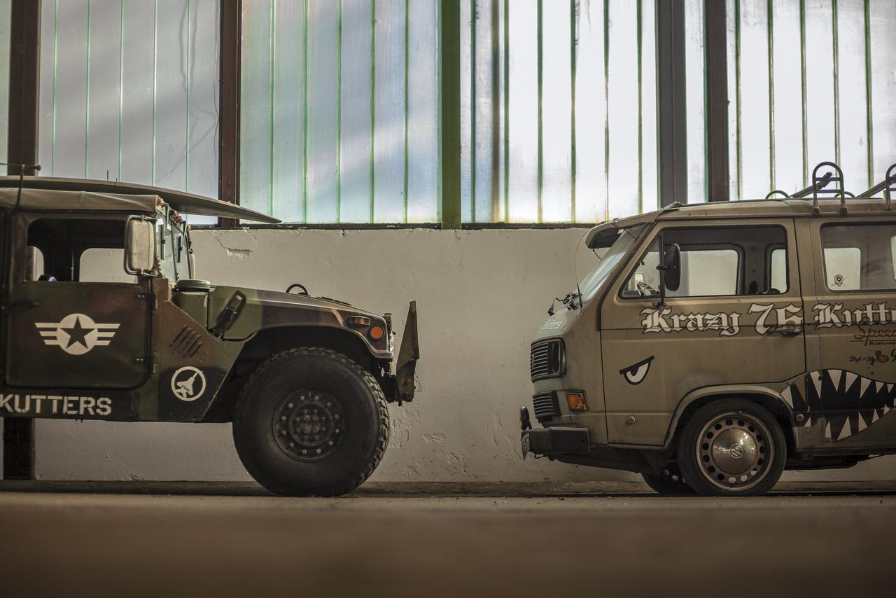 Variációk csapatszállításra: HMMWV  és VW T3