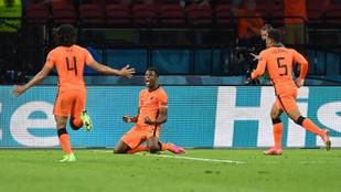 Hollandia elszórakozta kétgólos előnyét, de győzött