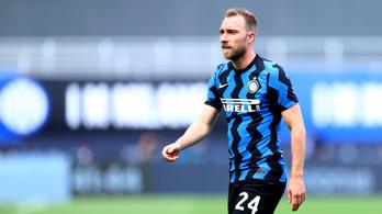 Itt a vége, aligha játszhat ezután Christian Eriksen az Interben