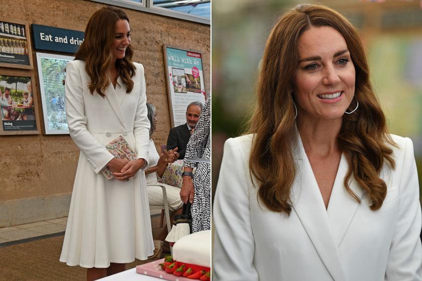 Katalin hercegné kedvenc tervezője, Alexander McQueen kreációjában tündökölt a G7-csúcstalálkozó első napján.