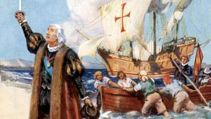 Tévesen gondolják sokan, hogy Kolumbusz azért indult el, hogy bizonyítsa: a Föld gömbölyű