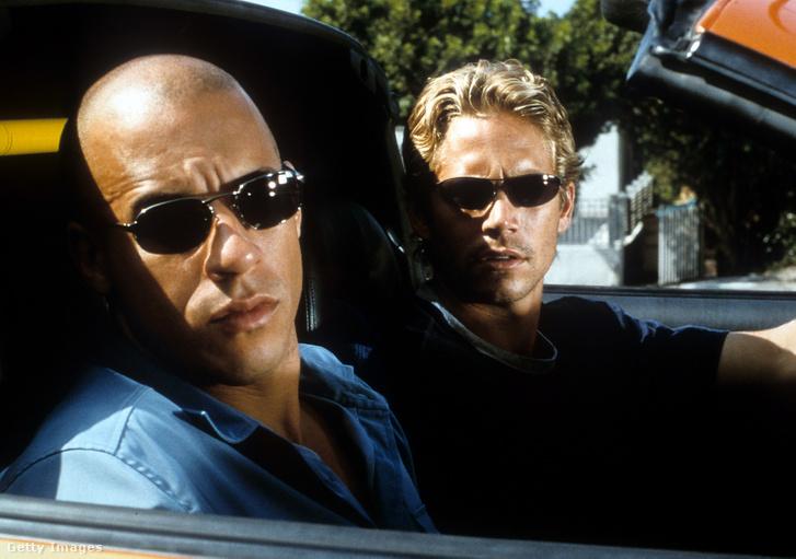 Vin Diesel és Paul Walker, a Halálos Iramban című filmben