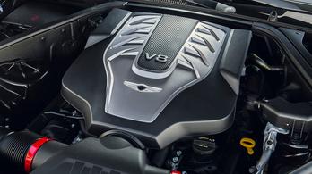 A Genesis is megszabadul V8-as motorjától