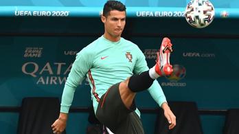 Cristiano Ronaldo: Bárcsak mindenhol olyan lenne, mint Budapesten!
