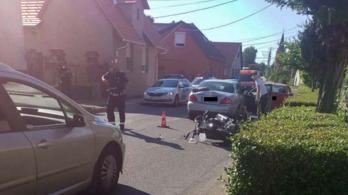 Meghalt egy motoros Dömösön