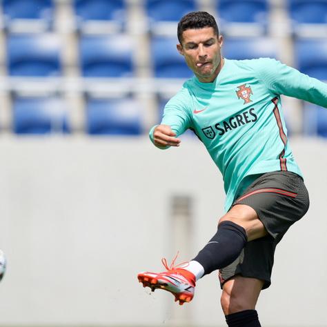 Cristiano Ronaldo a vízre esküszik