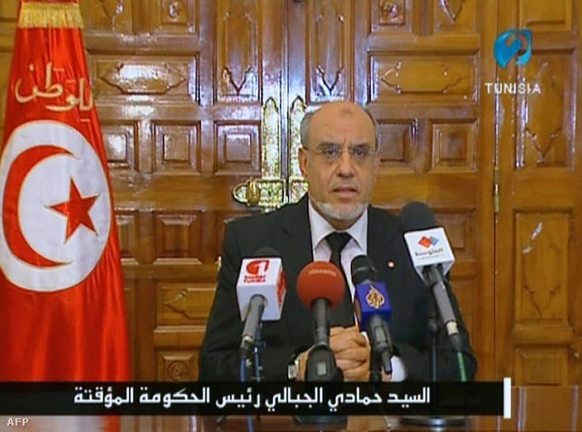 Hamadi Dzsebali televíziós beszédében elmondta, hogy pártoktól független, szakértői kormányt hoz létre.