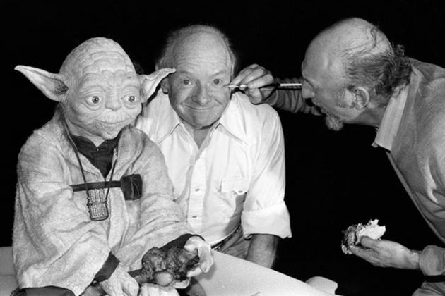 Yoda, Stuart Freeborn és Irvin Kershner, a Birodalom visszavág rendezője
