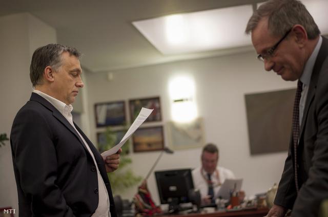 Orbán Viktor a csúcstalálkozó előtt Brüsszelben