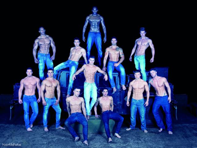 Csoportkép: ők a Dreamboys